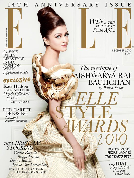 miss world 1994 aishwarya rai elle magazine