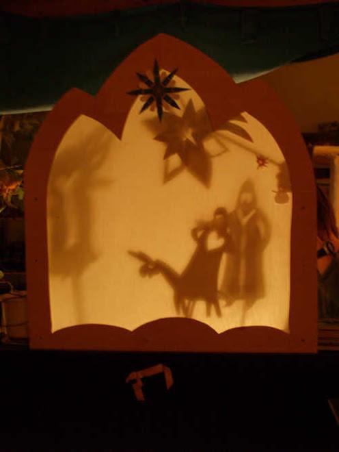 przyjechali trzej królowie- mały teatr cieni