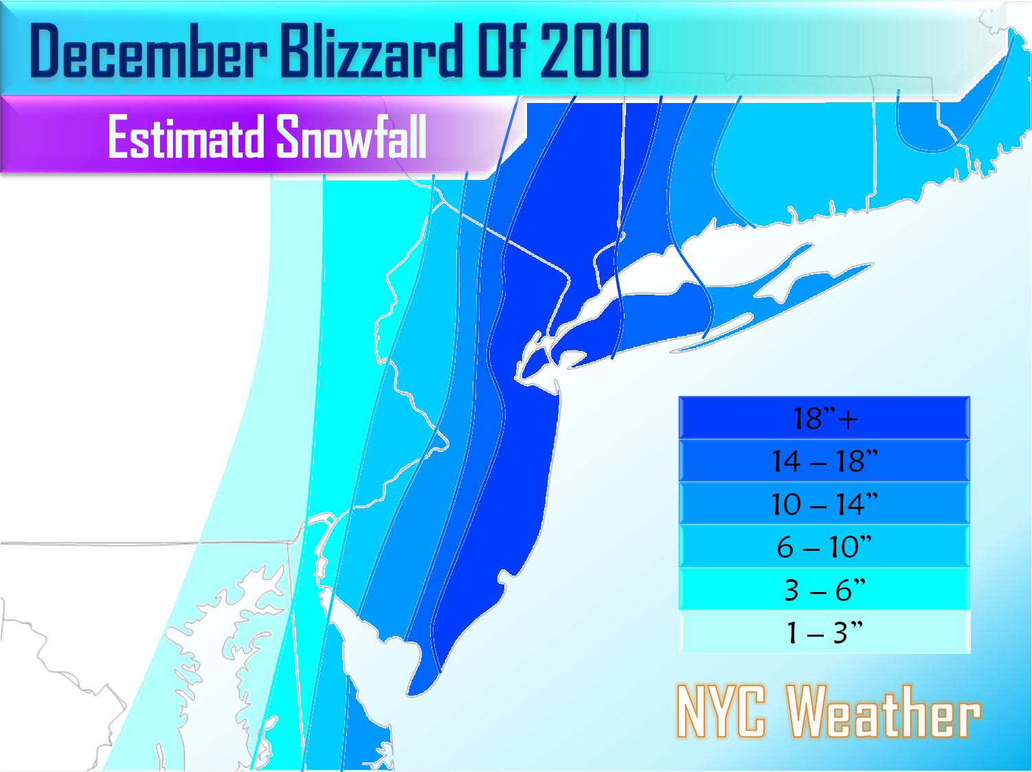 NYC Area Weather Final Blizzard Of  Summary - Nyc radar map
