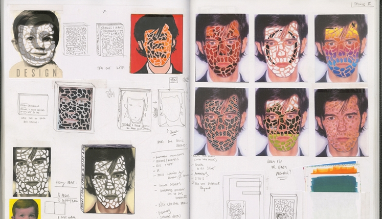lisa holland design graphic inside the sketchbooks of