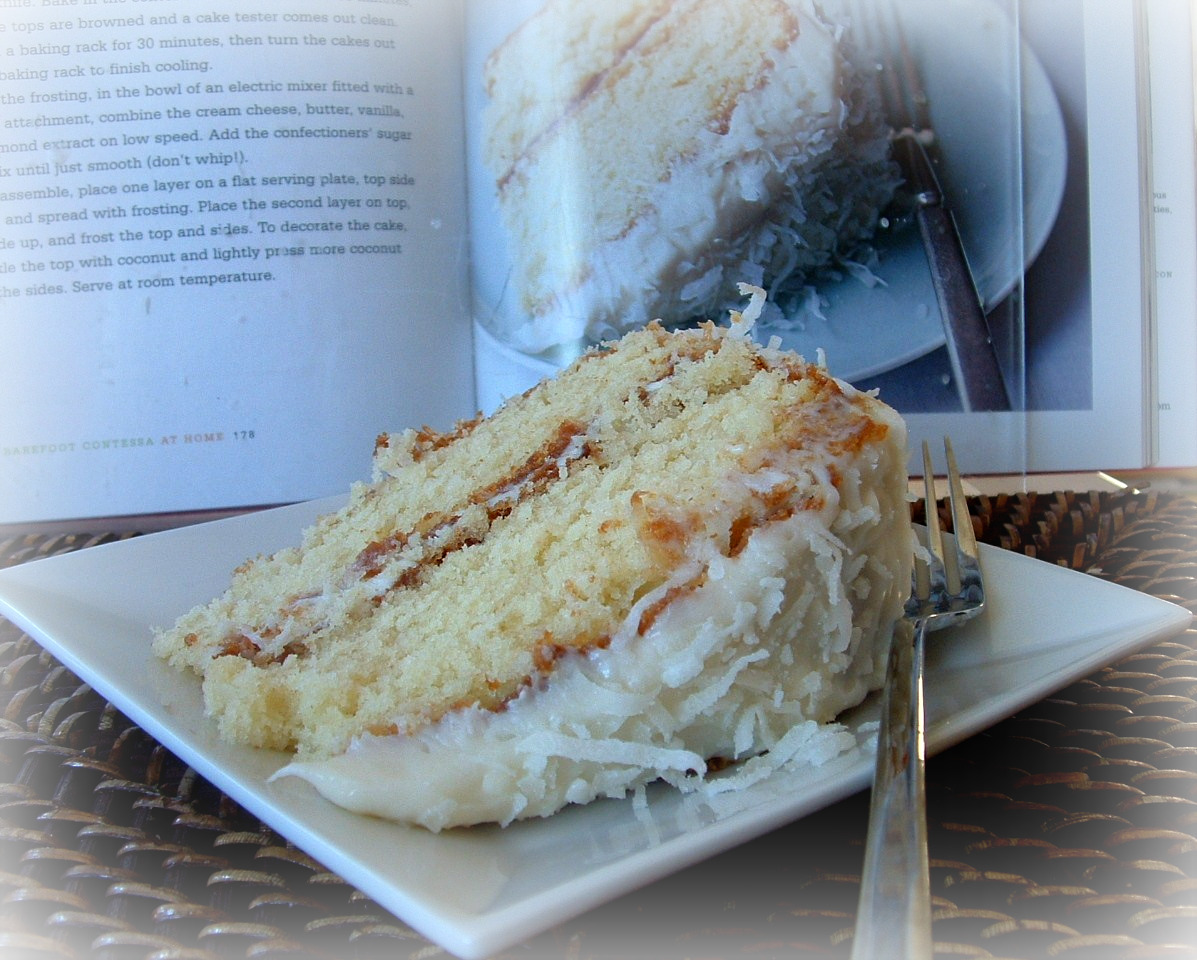 A feast for the eyes ina garten 39 s coconut cake a - Ina garten baking recipes ...