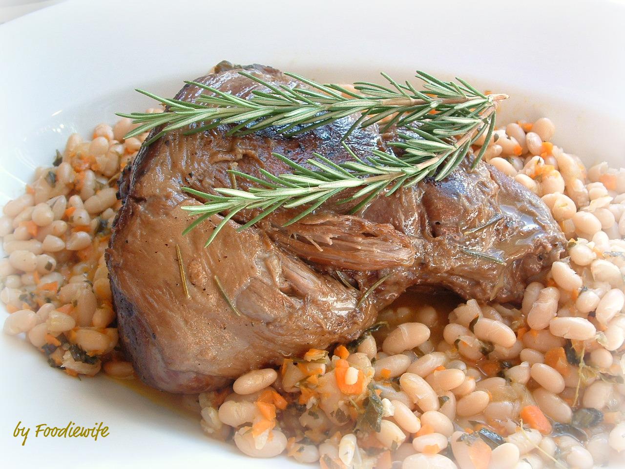 ina gartens braised 4 hour lamb provencal french beans - Ina Garten Lamb Recipes
