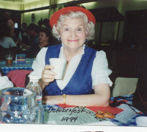 Mujer mayor alemana