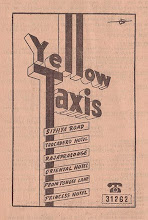 1950s BKK Yellow Taxis Ad