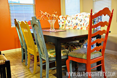 Reupholster Dining Room Chairs Go To THIS Post Or If Youd Like Instructions On How Create An Antique Look With Paint And Glaze HERE