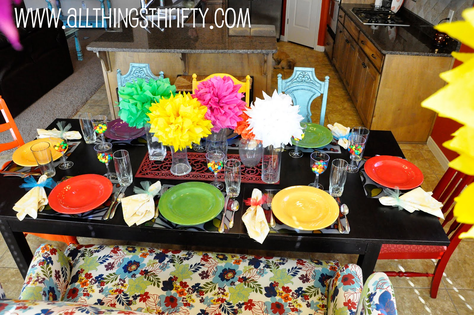 Funky Dinner Plates
