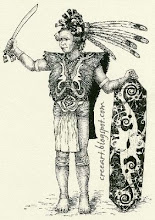 Dayak Headhunter