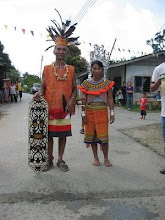 Dayak Kalimantan Indonesia Costume