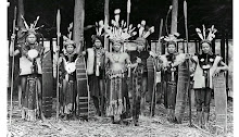 The Dayak War Leaders