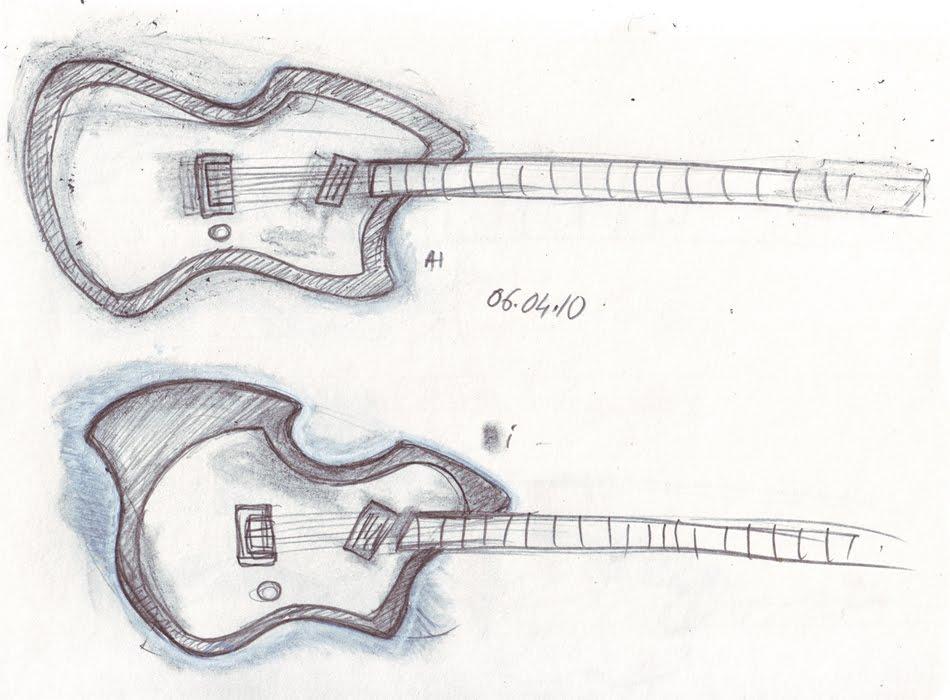 guitarren  more sketches