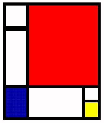 left on Mondrian