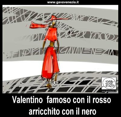 rosso nero Gava satira vignetta