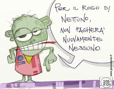 Polifemo Gava satira vignette