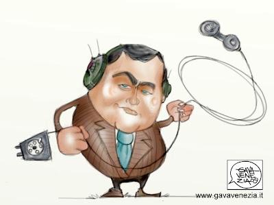 Mafia intercettazioni Gava satira vignette Gomez Corrias