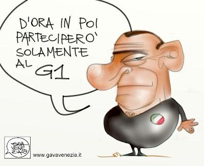 Gava Satira gavavenezia gavavenezia.it Berlusconi