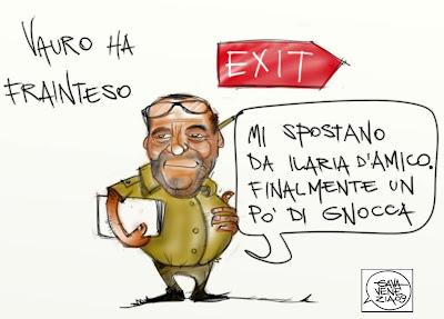 Ilaria d'Amico Editto Gava satira vignette