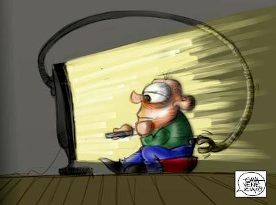 televisione Gava satira vignette