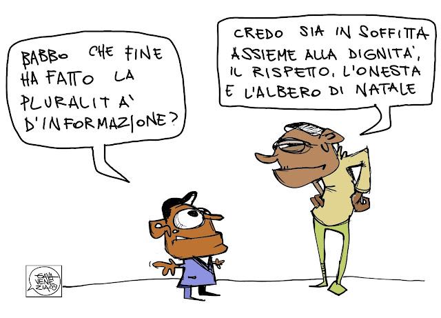 Gava Satira Vignette Porta a porta, pluralità di informazione
