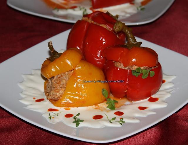 Articole culinare : Gefüllte Paprika oder Tomaten