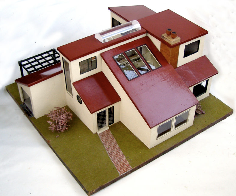 Dream Dollhouses Vintage Mini Modern Dollhouse On Ebay