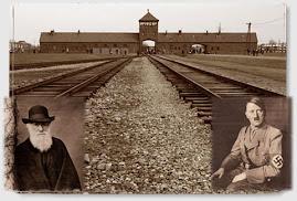 Ideolog (Darwin) i wykonawca (Hitler)