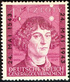 Kopernik na nazistowskim znaczku