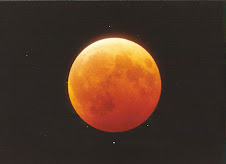 Yellow and Red Moon