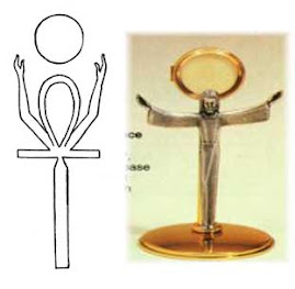Ankh i krzyz Jezusa