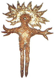 Bog slonce Tayau Huichol