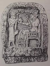 Ugarit Stele Bull El