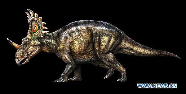 Nowy gatunek dinozaura (ceratopsid) znaleziony w Chinach