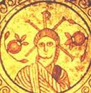 Jezus z twarza Konstantyna