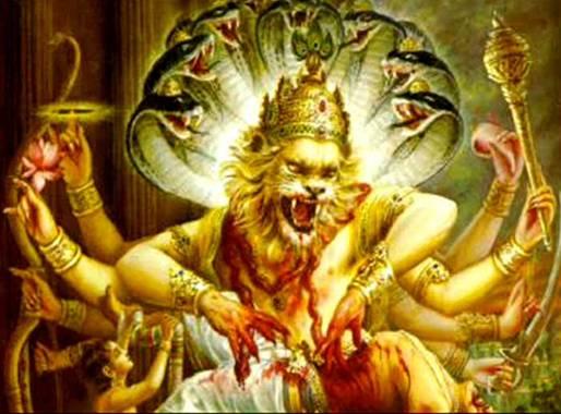 Indyjski bog slonce i krol w tiarze