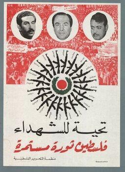 Helio-religion for Palestine on GDR Poster
