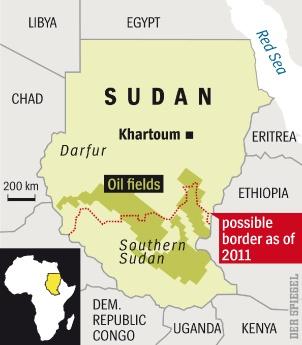 Poludniowy Sudan zasobny w rope naftowa