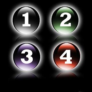 3d glassy button