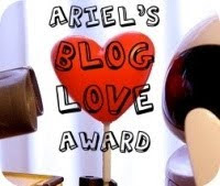 Ariel's Blog Love Award