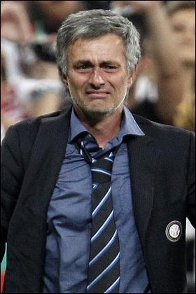 Mourinho llorando