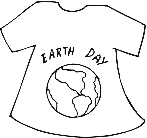 Dibujo de una camiseta para pintar - Imagui