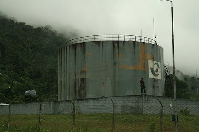Oil in Peruvian Amazon