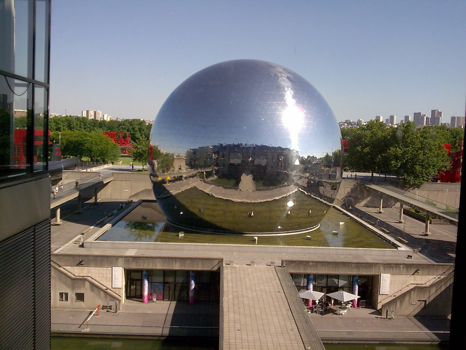 La geode, cite des sciences, paris