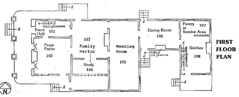 Historical society of quincy and adams county john wood for Vice president house floor plan