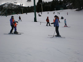 Skiing at Big Bear