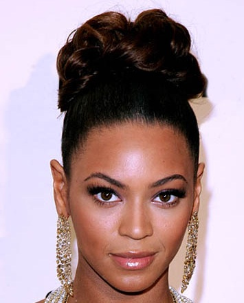 Black Wedding Hairstyles Updo for African American Women 2007