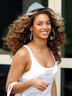 Wedding Updo Hairstyle: Beyonce Latest Wavy Curly Long Hairstyle
