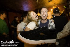 THANK YOU TO EVERYONE THAT CHECKED OUT PUMA x FOUNDTRACK THURSDAYS AT R-BAR