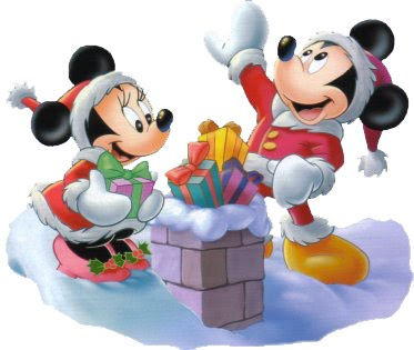 Disney Mickey and Minnie Mouse Christmas