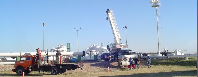 EQUIPOS PARA LA CONSTRUCCIÓN - PRESUPUESTOS| , foto de obra en ejecución, mostrando parte de los Equipos que se usan