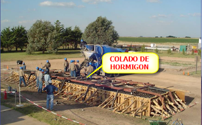 Obra Nueva| Hormigón Transporte, Colado, Encofrados , colado de hormigón en una base de turbinas