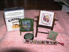 Some miniature embroidery kits from Janet Granger